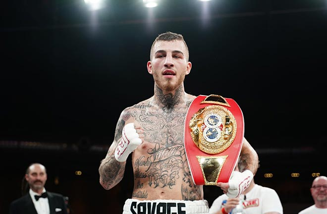 Impressive Eggington Completes Italian Job, Stops Fiordigiglio In Two. Credit: Matchroom Boxing