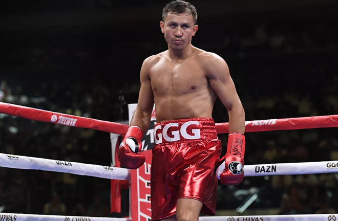 Yeleussinov could be the heir to Kazakh great Gennady Golovkin's thrown Credit: Bad Left Hook