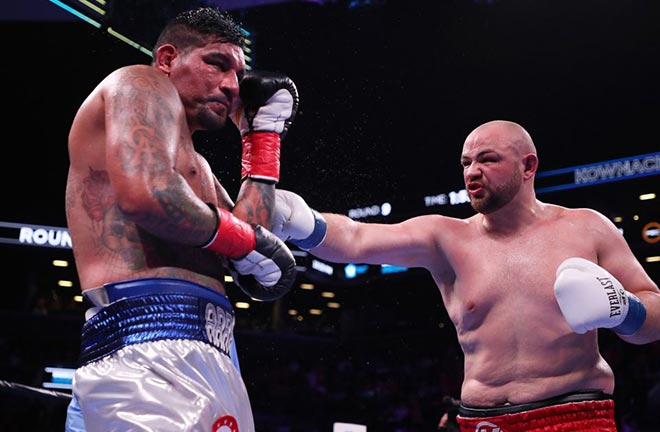 Adam Kownacki defeated Chris Arreola in Brooklyn. Credit: TalkSPORT