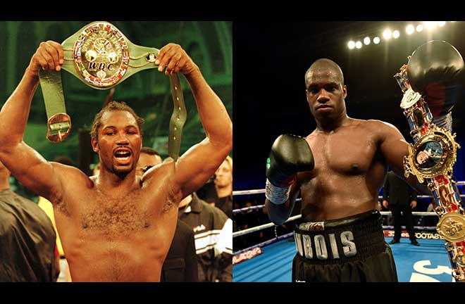 Daniel Dubois Hails Lennox Lewis As Greatest Influence On His Boxing Style. Credit: Frank Warren