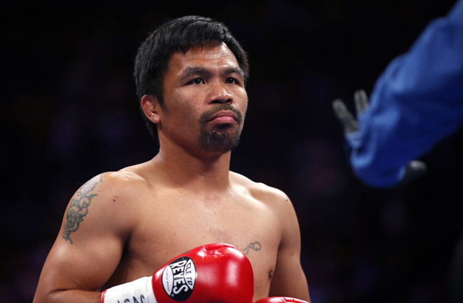 Eight-weight champion Manny Pacquiao could be next for Garcia Credit: Engadget