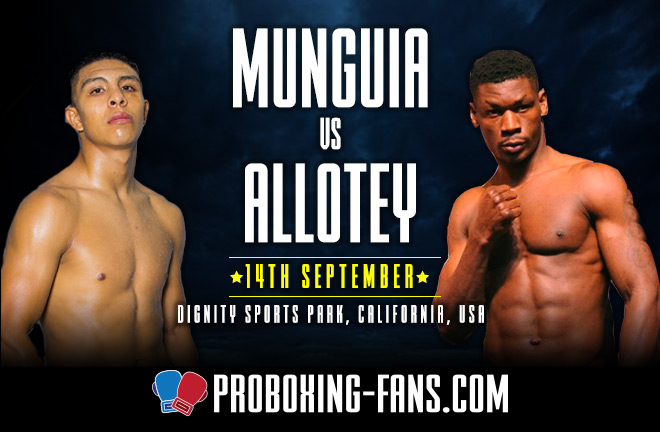 Munguia vs. Allotey – Big Fight Preview & Prediction