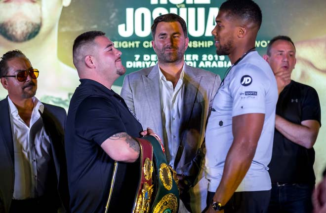Anthony Joshua's mega rematch with Andy Ruiz Jr Credit: Matchroom Boxing