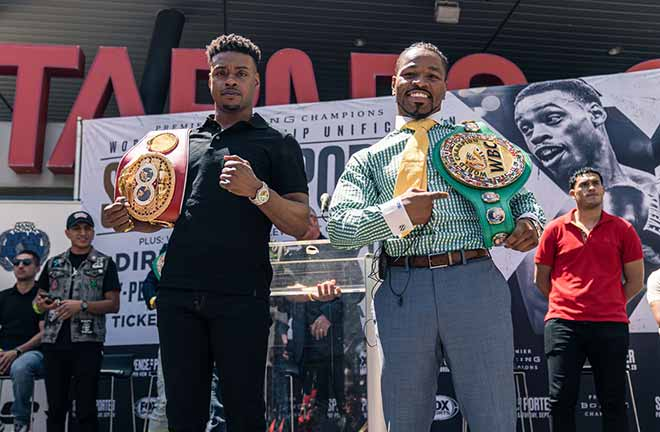 Shawn Porter is confident he will get the victory and is determined to find a way to win. Credit: Max Boxing