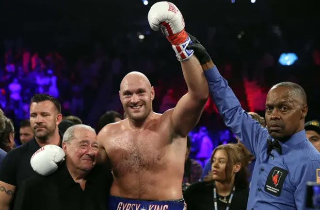 Fury's promoter's Bob Arum and Frank Warren are in talks with Eddie Hearn through MTK