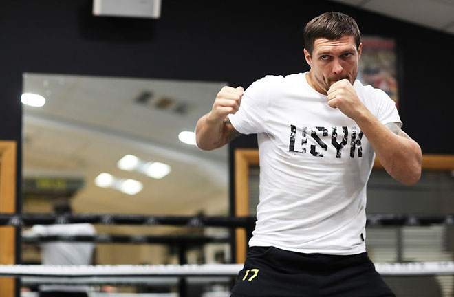 Usyk: I've Been Preparing For Heavyweight All My Career. Credit: Matchroom Boxing