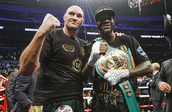 Wilder and Fury will rematch in Las Vegas on February 22nd