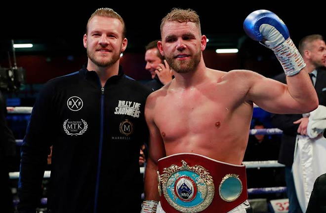 Billy Joe Saunders will defend his WBO Super Middleweight crown on the bill in Los Angeles Credit: The Independent