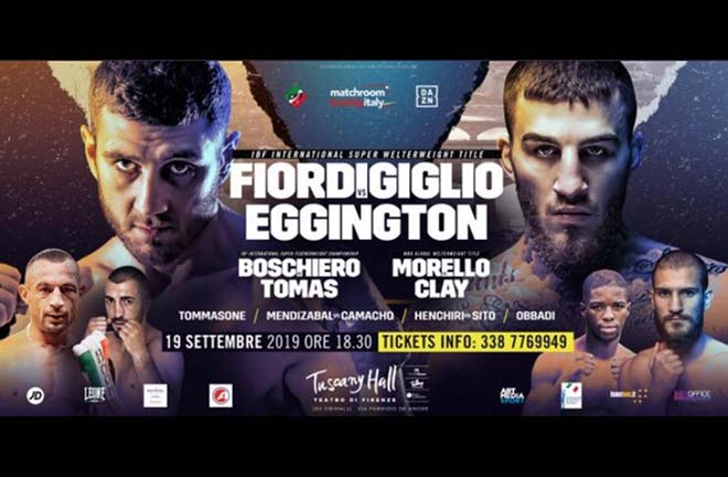Fiordigiglio v Eggington - Big Fight Preview & Prediction. Credit: Matchroom Boxing