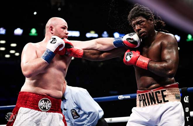 Kownacki outpointed Charles Martin in a thrilling fight back in 2018. Credit: Ring TV