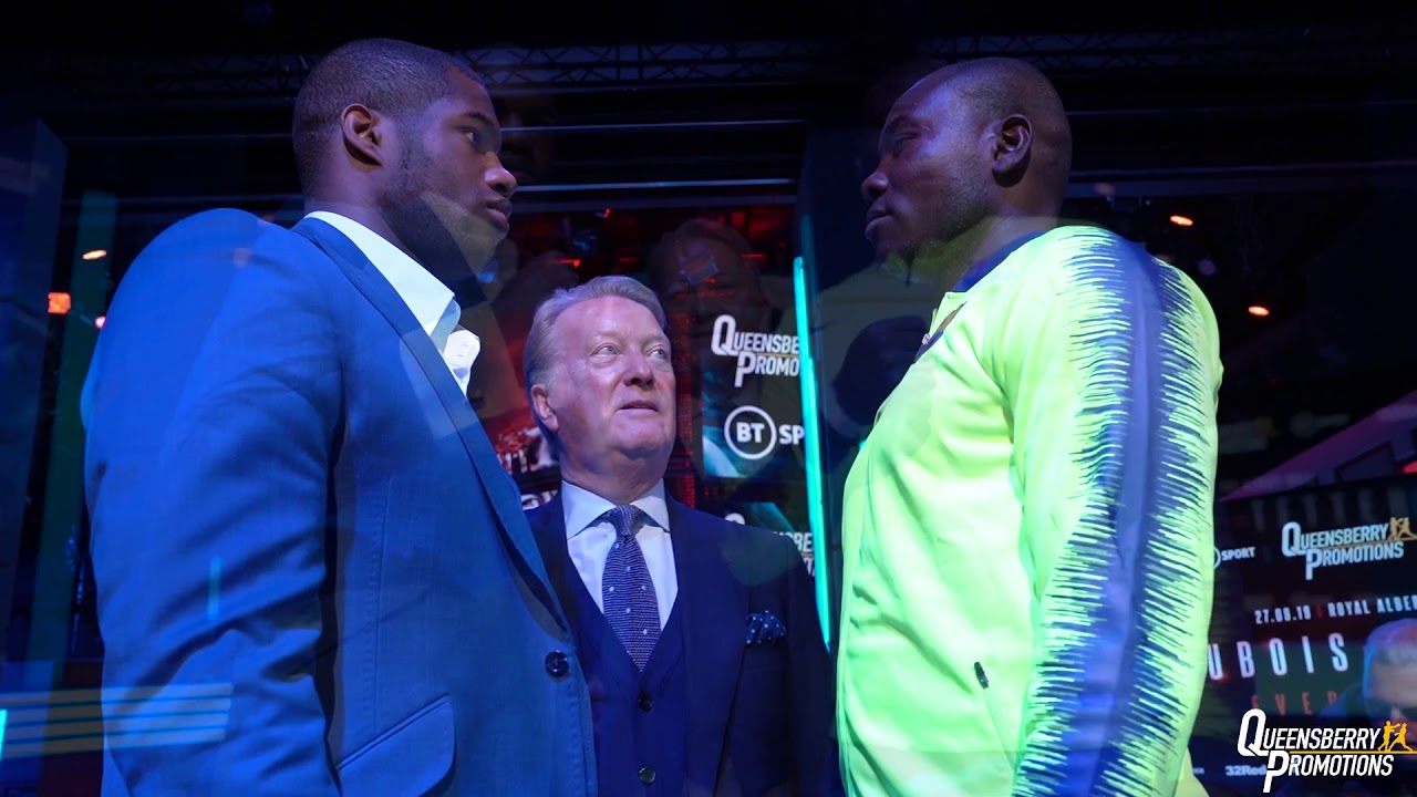 Dubois vs Tetteh & Undercard Press Conference Quotes. Credit: Frank Warren