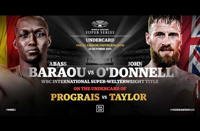 Baraou Makes UK Debut On WBSS Undercard In London. Credit: Team Sauerland