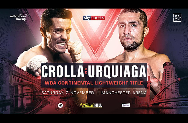 Anthony Crolla will fight for one last time in Manchester on November 2 Credit: Matchroom Boxing