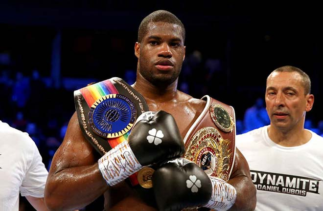 Daniel Dubois looks to go 14 unbeaten at the Copper Box on Saturday Credit: Standard