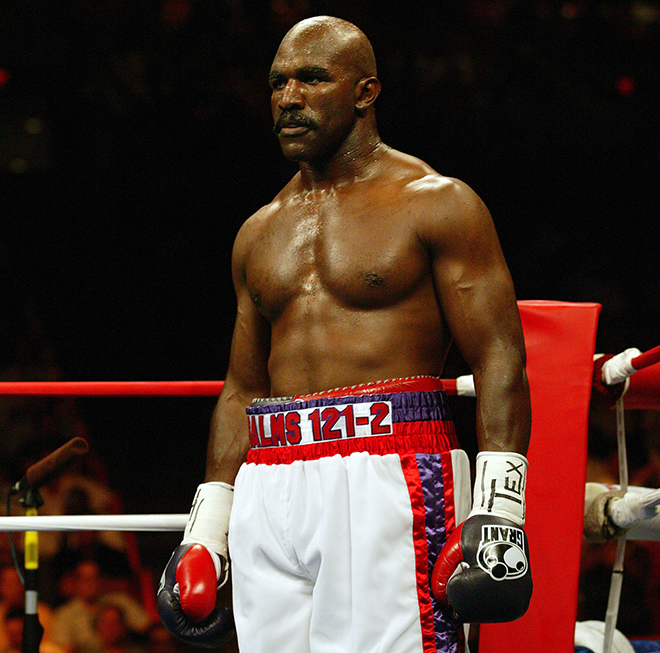 Evander Holyfield is one of the most decorated heavyweights of his generation Credit: Wikipedia
