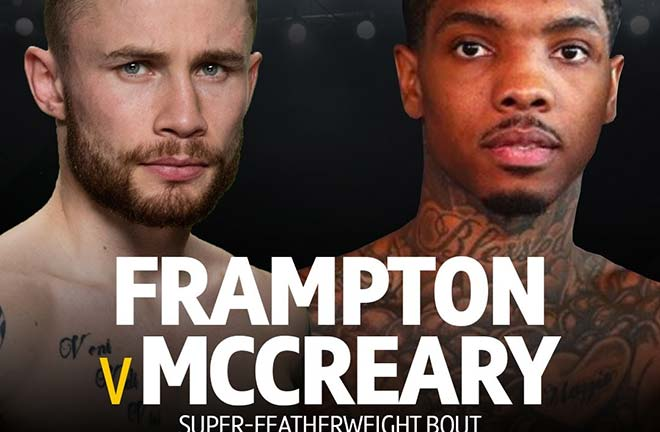 Carl Frampton Returns November 30th Against Tyler McCreary. Credit: Frank Warren