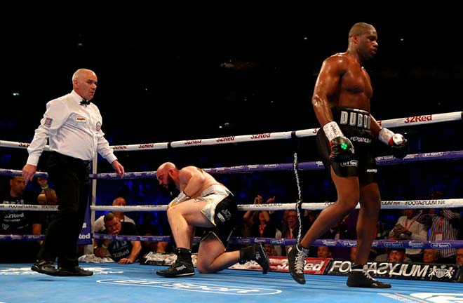 Daniel Dubois defeated Nathan Gorman back in July? Credit: talkSPORT