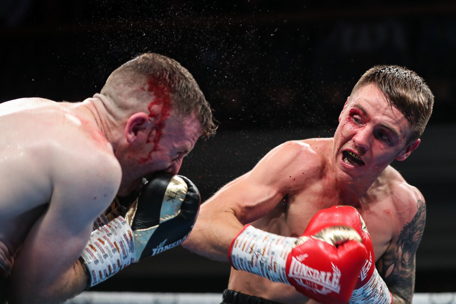 Jay Harris proved too much for Paddy Barnes in Belfast Credit: MTK Global