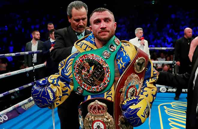 Vasily Lomachenko has also been elevated to WBC franchise champion Photo Credit: The Independent