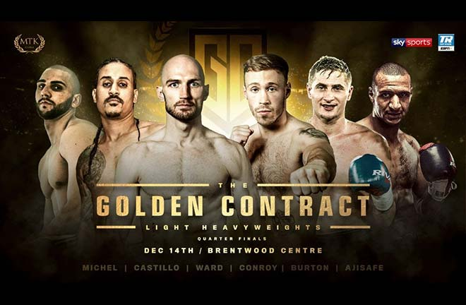 Light-heavy Golden Contract opener revealed. Credit: MTK Global