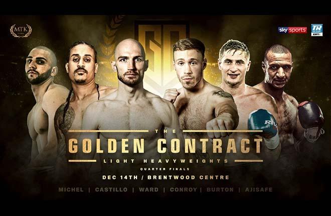 Light-heavy Golden Contract opener revealed. Credit: MTK Global