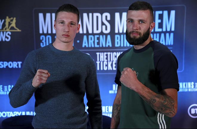 Midlands Mayhem | Press Conference Quotes Ahead Of November 30 Show. Credit: Frank Warren