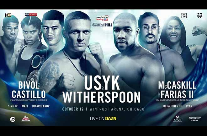 Chazz Witherspoon Replaces Tyrone Spong. Credit: Matchroom Boxing