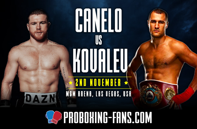 Saul 'Canelo' Alvarez will jump two weight divisions to face Sergey Kovalev on Saturday in Las Vegas