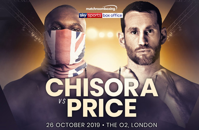 BREAKING NEWS: DEREK CHISORA TO FIGHT DAVID PRICE ON OCTOBER 26 IN LIVERPOOL.