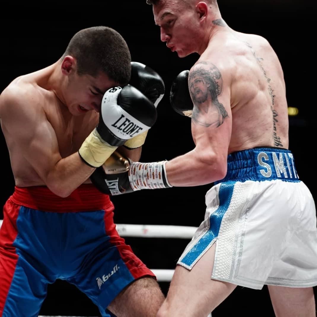 Dalton Smith made it three straight professional wins Credit: Matchroom Boxing