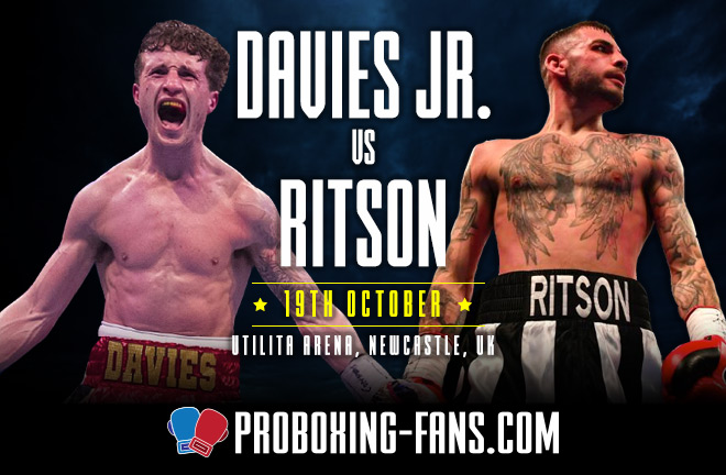 Davies Jr v Ritson - Big Fight Preview & Predictions.