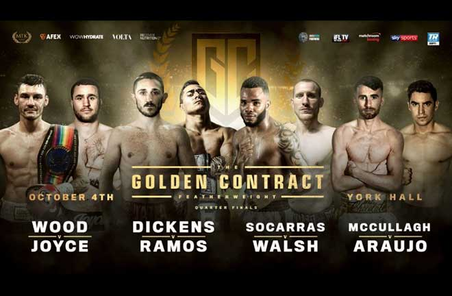 MTK Featherweight Golden Contract Quarter Finals - Preview & Predictions. Credit: MTK Global