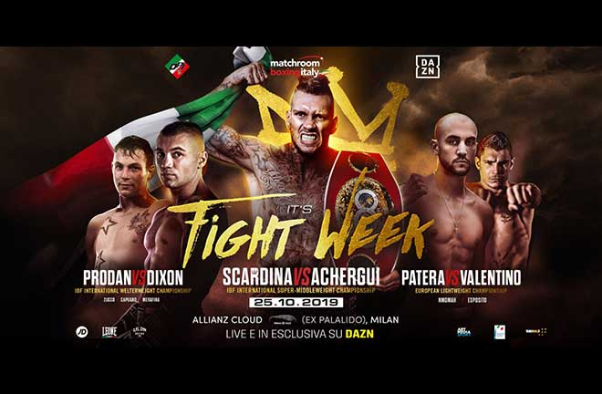 Matchroom Italy Milan - Previews & Predictions. Credit: Matchroom Boxing