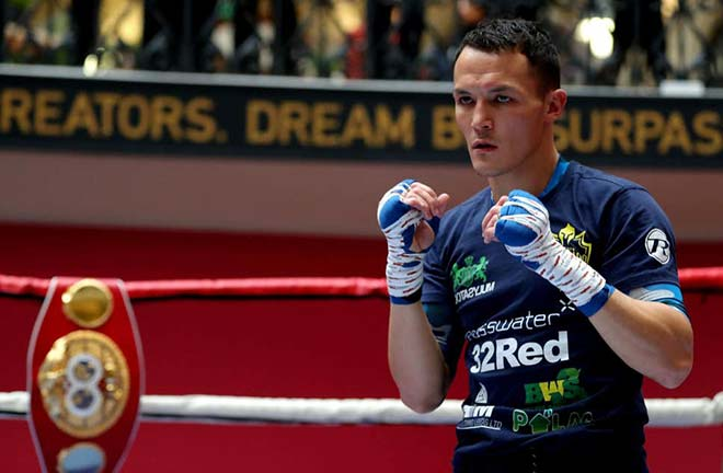 IBF world champion, Josh Warrington has joined forces with Eddie Hearn and Matchroom Boxing. Credit: Evening Standard