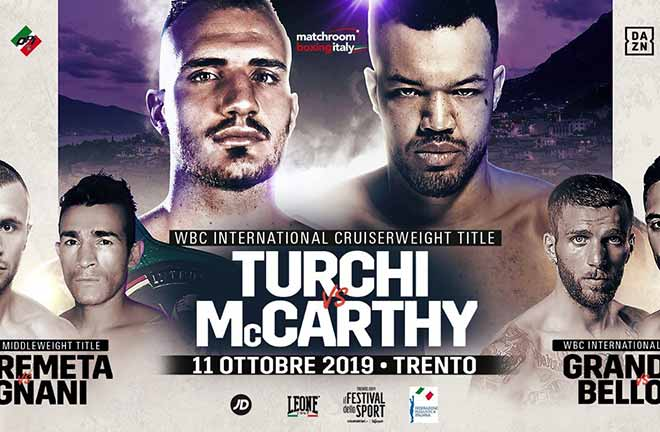 McCarthy vs Turchi - Big Fight Preview & Prediction. Credit: Bad Left Hook