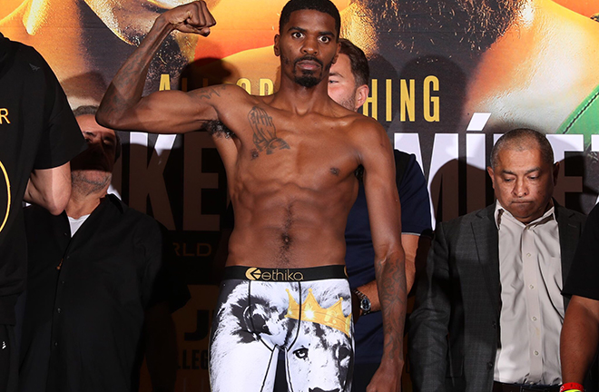 Former WBO champion Maurice Hooker could be next for Ritson Credit: Matchroom Boxing