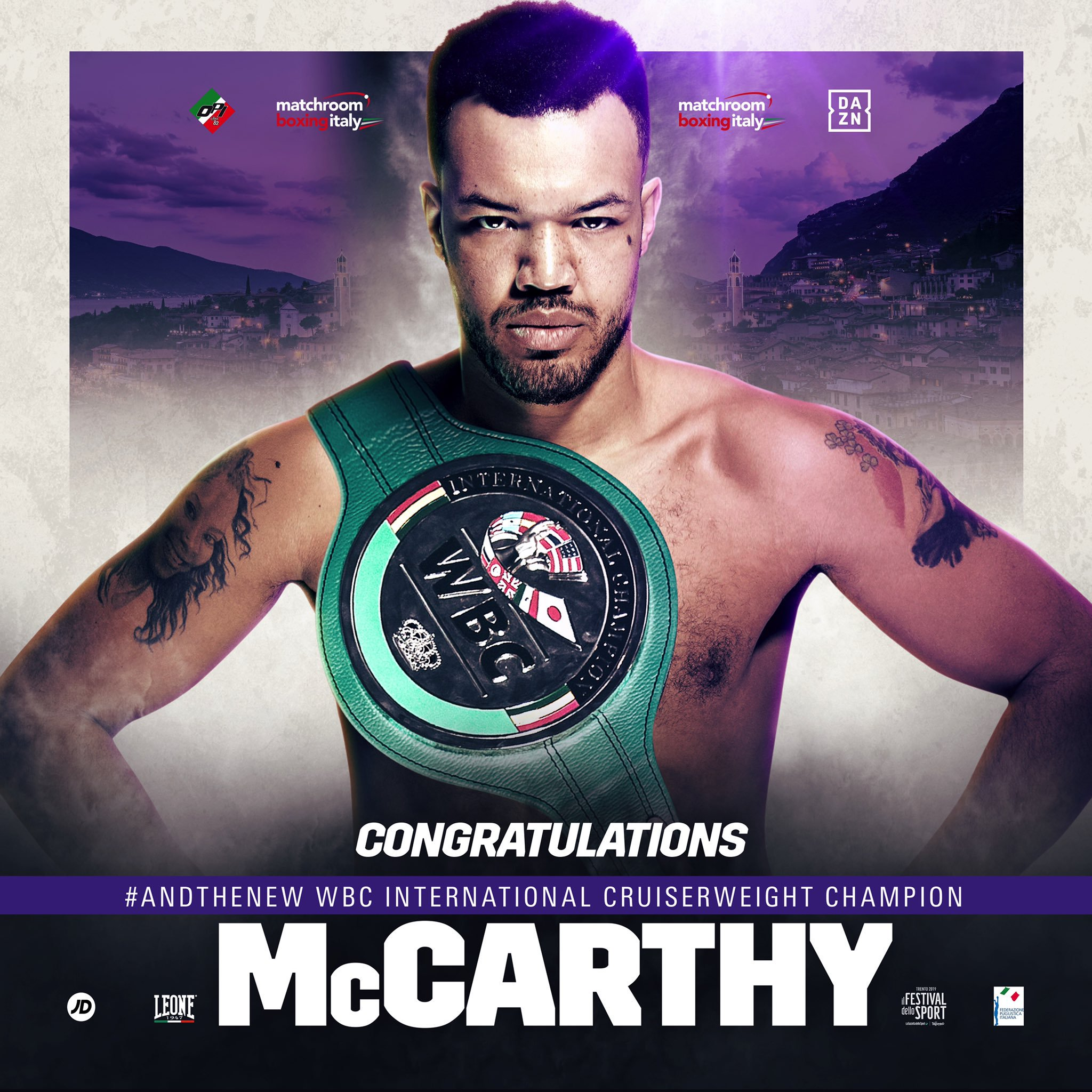 Tommy McCarthy is back in contention at domestic level Credit: Matchroom Boxing