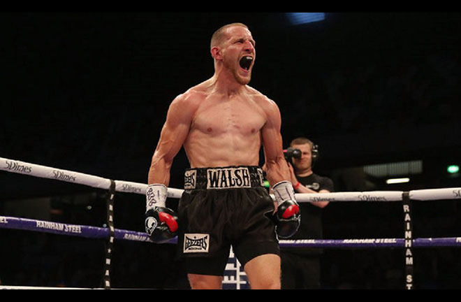 Ryan Walsh meets Liverpool's 'Jazza' Dickens in the final. Credit: 32 Red