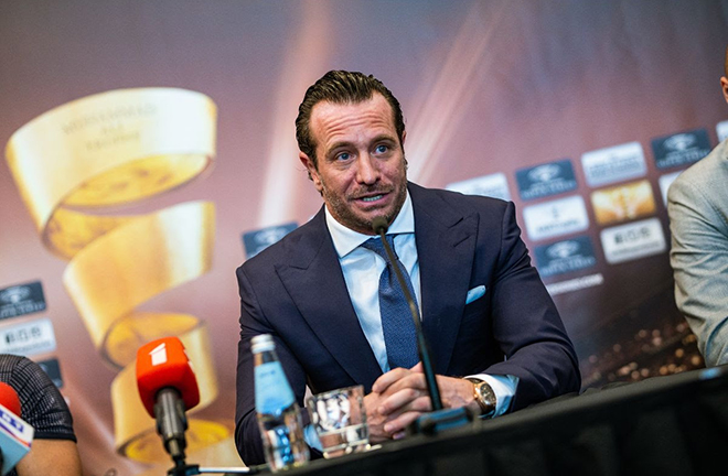 Kalle Sauerland is anticipating a fight of the year contender Credit: World Boxing Super Series
