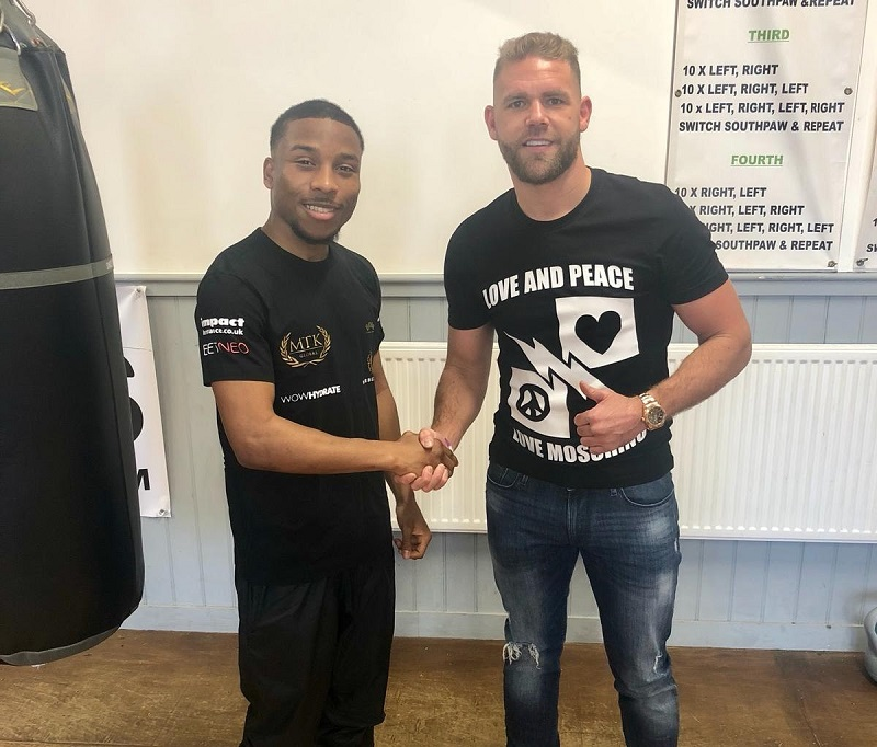 Billy Joe Saunders will manage amateur star Donte Dixon Credit: WBN