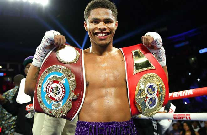 Shakur Stevenson has vacated his WBO Featherweight title and moved up to 130lbs Photo Credit: Boxing Scene