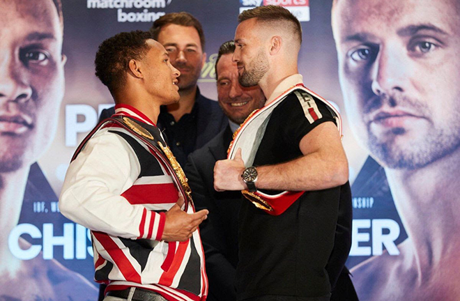 Josh Taylor and Regis Prograis will put their unbeaten records on the line on Saturday Credit: World Boxing Super Series