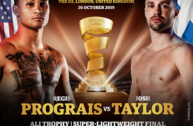 The prestigious Muhammad Ali trophy is on the line at the O2 Credit: World Boxing Super Series
