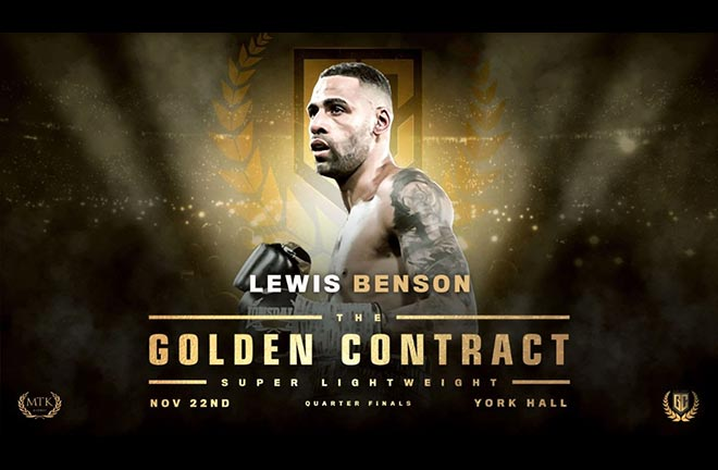 Buzzing Benson handed huge GoldenContract chance. Credit: MTK Global