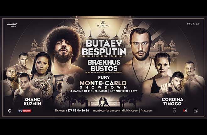 World title double-header tops Monte-Carlo showdown. Credit: Matchroom Boxing