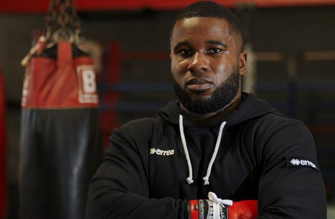 Yves Ngabu reckons he'll have too much for Lawrence Okolie on Saturday Credit: ringtv