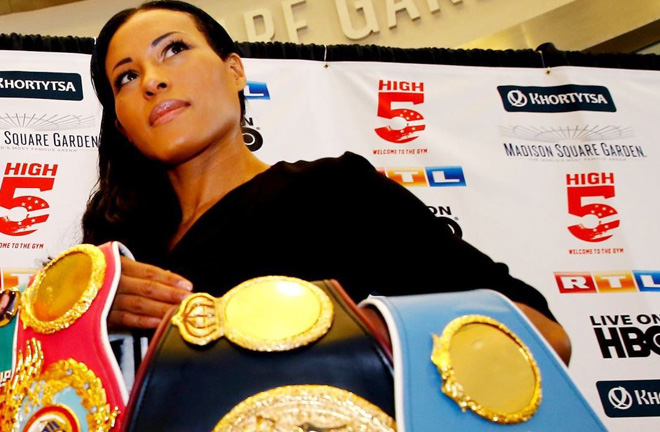 Undisputed Welterweight champion Cecilia Braekhus makes her Matchroom debut on Saturday