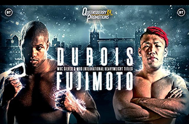 Unbeaten Daniel Dubois is fighting for the fifth time this year Credit: Frank Warren
