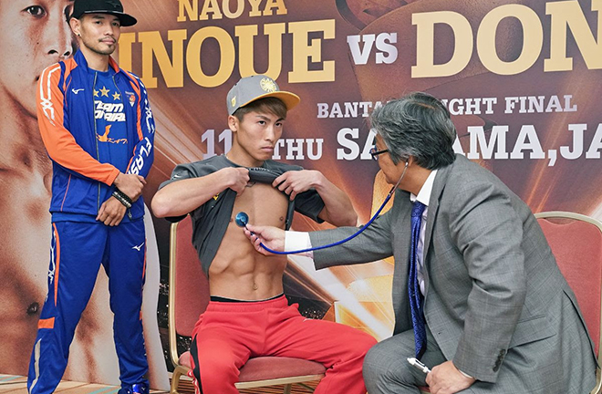 Inoue can claim pound-for-pound status with victory on Thursday Credit: Naoki Fukuda