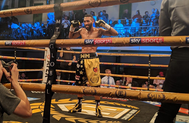 Mohamed Mimoune completes the semi final line up after his 5th round KO win over Darren Surtees.